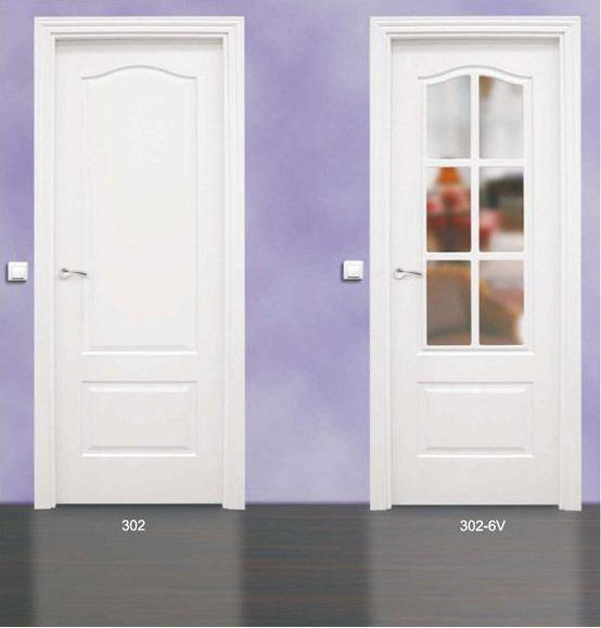Puertas blancas cl sicas vicente molla llacer - Puertas paso blancas ...