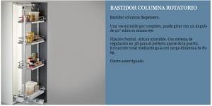 BASTIDOR COLUMNA ROTATORIO