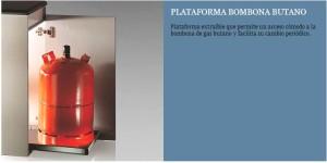 PLATAFORMA BOTELLA BUTANO