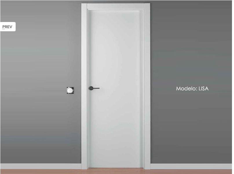 Puertas blancas lisas vicente molla llacer for Puertas macizas blancas